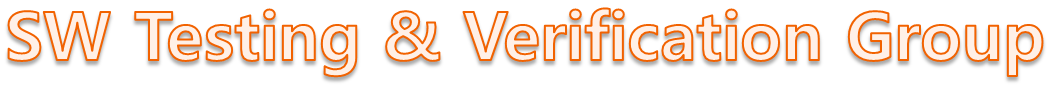 SW Testing & Verification Group